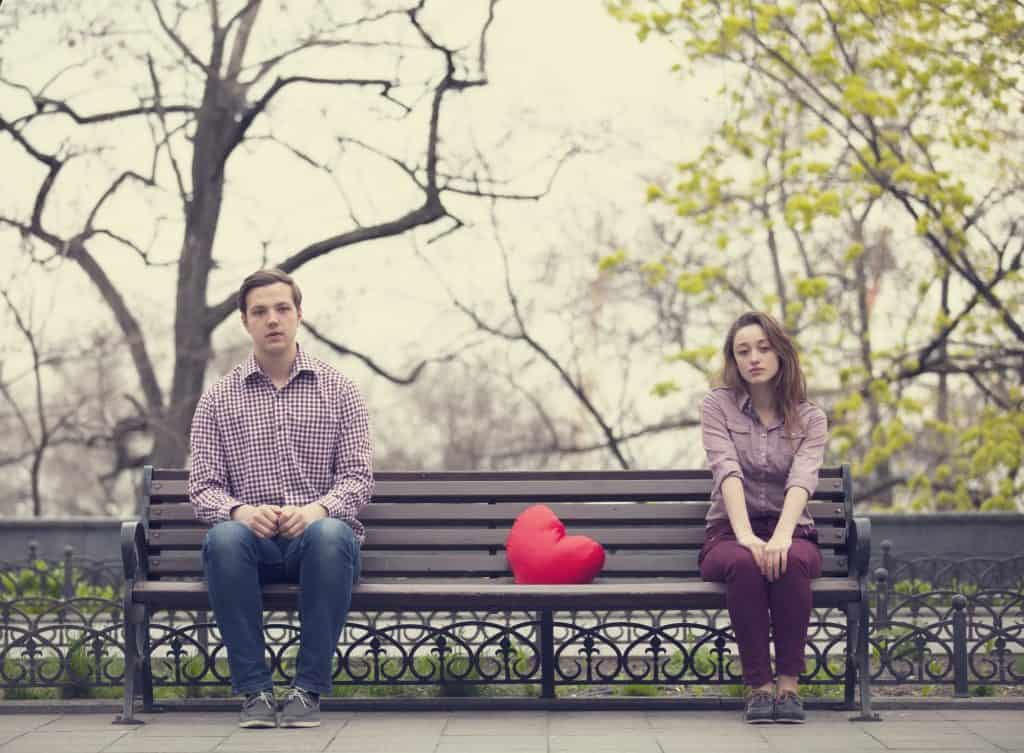 Exes On A Park Bench