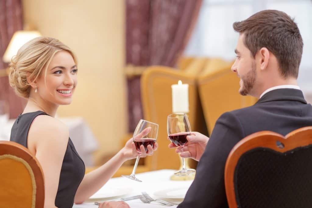 First Date Wine Toast