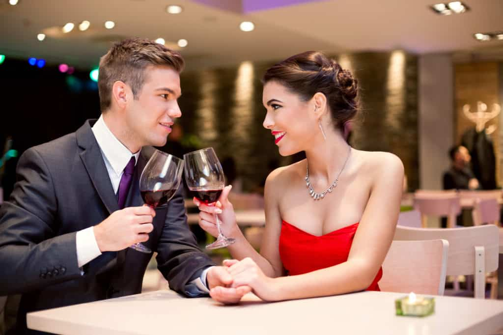 you should feel comfortable with them by your third date