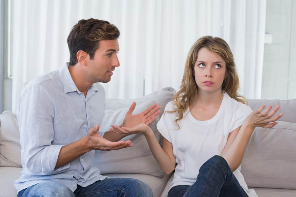 there doesn't seem to be any peace left in the relationship