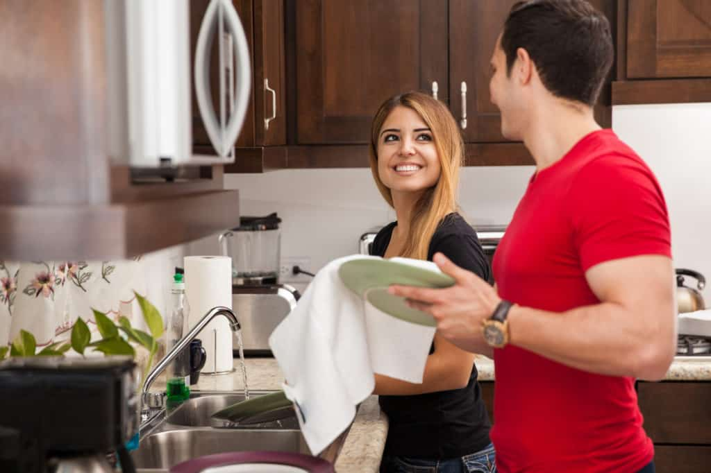 ask your spouse for help in accomplishing the task