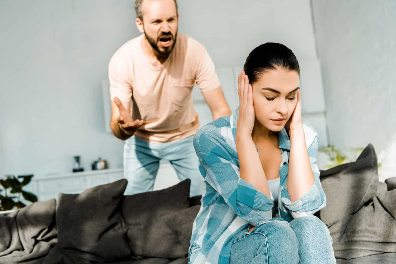 why does my husband accuse me of cheating