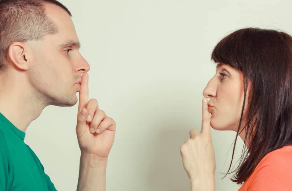 don't leak out intimate details of your relationship