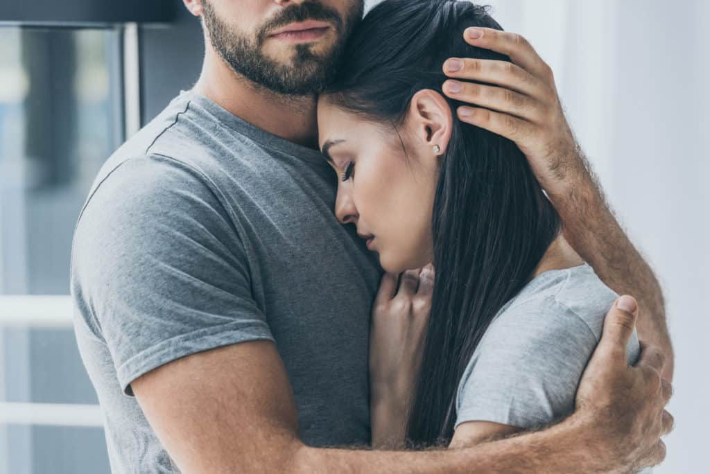 you're confident your partner will stick by you on your bad days